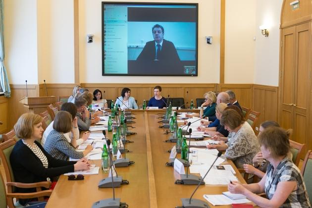 Совещание провела заместитель Министра образования и науки РФ Т.Ю. Синюгина